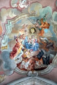 St.Ulrich_am_Pillersee_-_Deckenfresko_1a