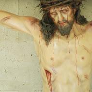 Crucifix in La casa de retiros, Santa María de Los Provinciales